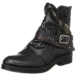 A.S.98 Damen Verti Biker Boots, Schwarz TDM Nero, 36 EU