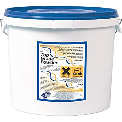Top Grade Carpet Powder. For cleaning carpets, most curtains and