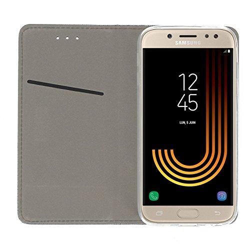Stahl-flip-deckel (acce2s - Cover Klappe Klappe -stahl für Samsung-Galaxy J3 2017)