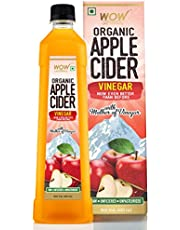 WOW Raw Apple Cider Vinegar - with strand of mother - Not from concentrate