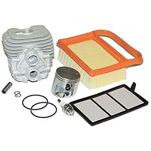 Cylindre piston Anneaux de filtre à air bougie d'allumage pour Stihl ts410ts420Service