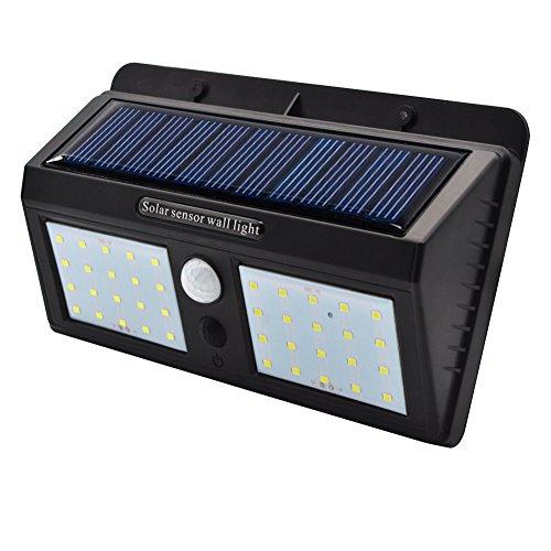 Foco solares luces del jardín exterior-40 led luz impermeable para yarda calzada