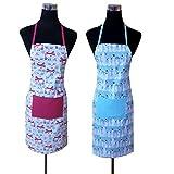 J Home 100% Pure Cotton Kitchen Apron