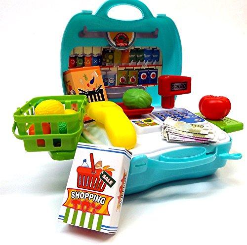 Brigamo 560 – Spielzeug Bio Kaufladen to go im Koffer - 2