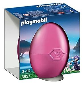 Playmobil Huevos- Queen Moonbeam with Baby Pegasus Figura con Accesorios, (6837)