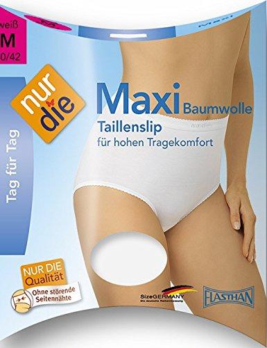 Nur Die Damen Slip Maxi Bw Haut