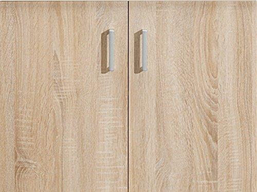 CS Schmalmöbel 51/03 Türen Paar, Holz, Eiche, 68 x 1,5 x 51 cm