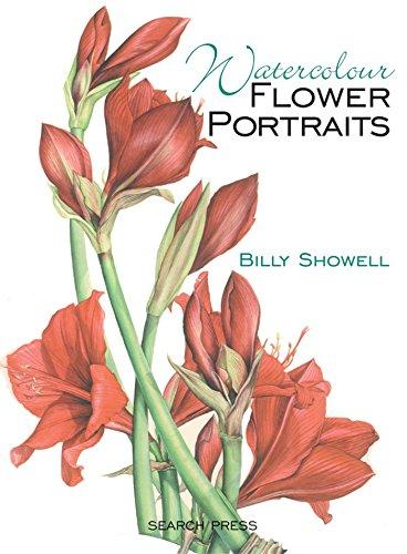 Watercolour Flower Portraits por Billy Showell