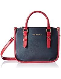 Lino Perros Women's Handbag (Blue) - B076H6V8NW