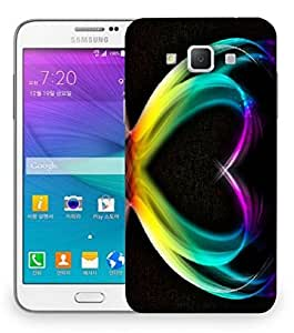 Snoogg Colorful Heart Designer Protective Back Case Cover For Samsung Galaxy Grand Max G7200