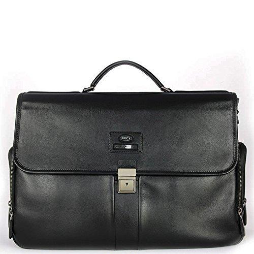 """Cartella in pelle, con tasca per tablet e notebook, Bric's """"Pininfarina Misano"""""""