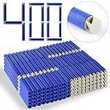Darts Pfeile für Nerf, Teckpeak 400 Stück Refill Bullets Zubehör für Nerf Nachfüll-Pack Spielzeug,7,4×1,3cm