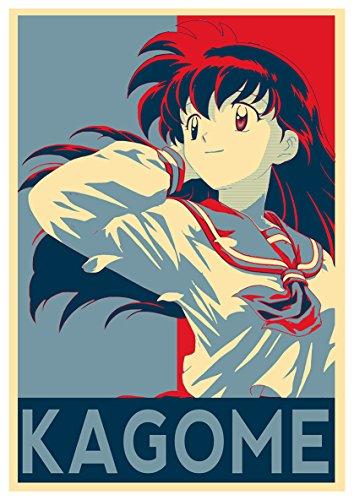 Posters Inuyasha Propaganda Kagome - A3 (42x30 cm)