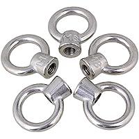 Anillo de acero inoxidable 304 M8 en forma de anillo con tuercas roscadas Estilo japonés Paquete de tuerca con elevación de 5