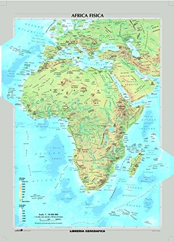 Africa fisica e politica - Carta Murale