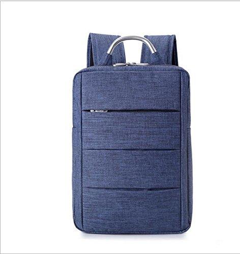 Z&HXComputer Rucksack Laptoptaschen Laptop-Tasche und weise beil?ufige wasserdichte Multifunktions Blue