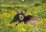 Glückliches Rindvieh 2018 (Wandkalender 2018 DIN A3 quer): Bilder von Kühen im Oberstdorfer Bergland (Monatskalender, 14 Seiten ) (CALVENDO Tiere) [Kalender] [Apr 04, 2017] Güttler, Sebastian