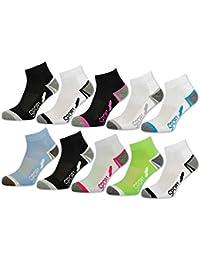 6 oder 12 Paar SPORT Sneaker Socken Damensocken verstärkte Frotteesohle - 36850/N - sockenkauf24