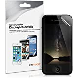 kwmobile Film de protection confidentiel pour écran > Apple iPhone 4 / 4S < - Protégez votre vie privée. Qualité supérieure