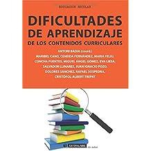 Dificultades de aprendizaje de los contenidos curriculares (Manuales)