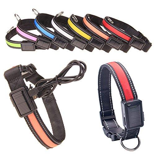 Wasserdicht-LED-Haustier-Hundehalsband-LED-USBSolar-Aufladbare-Haustier-Sicherheits-Kragen-Sicherheitsgeschirr-Brustgechirr-mit-LED-Licht