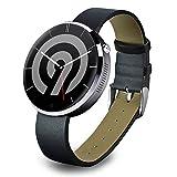 NINETEC Smart9 G2 Smart Watch für Android & Apple iOS mit Herzfrequenz-Messer Pedometer Schritt-Zähler Schlaf-Analyse Silber