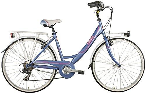 26 Zoll Legnano Tropea Damen Holland Fahrrad 6-Gang, Farbe:lila