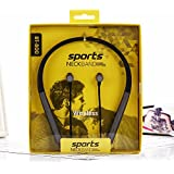BT800 Earphone Sports Neckband Stereo Headphone Wireless, SweatProof With Mic And Magnetic Latch