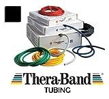 Theraband Tubing, besonders starker Widerstand, Schwarz, schwarz schwarz