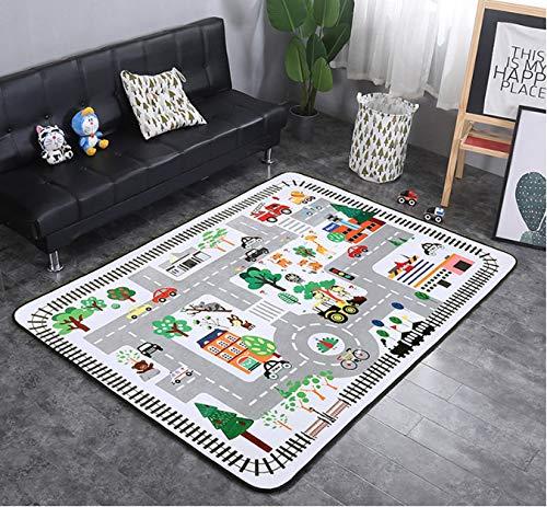 Mianbao Baby Teppich Krabbeldecke Für Kinder Wohnzimmer Zimmer Kinderdecke Schlafzimmer Matte Home Home Home Spielmatte Ban Ungiftig 200 x 300 cm