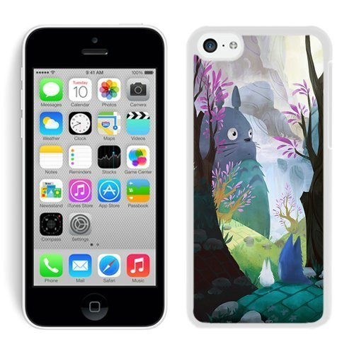 Unique My Neighbor Totoro 37 iPhone 5c Generation White Case