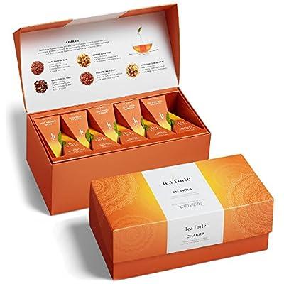 Tea Forte Chakra Coffret Assortiment Thé Noir Chai Infusion Chai 20 pyramides by Tea Forté