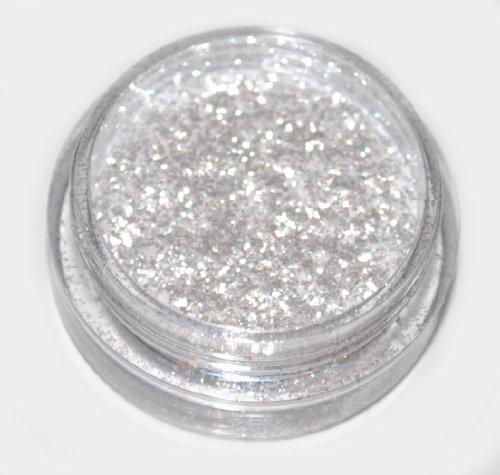 Snow White Diamond Eye Shadow Loose Glitter Dust Body Face Nail Art Party Shimmer Make-Up by Kiara H&B (Funkeln Lippen Intensiv)