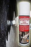 bitumen- y ALQUITRAN Eliminador 0,3 litro 300ml de alquitrán Limpiador betún Aceite grasa teerreiniger bitumenreiniger Agentes para azulejos,cerámica,plástico,porcelana,esmalte,vidrio,madera,piedra,