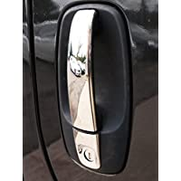 Demon Styling Chrome Stainless Steel 4 Door Handle Covers 4 Piece Set