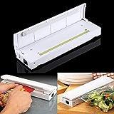 Machine A Sceller Sachets Plastique Portable Sans Fil Cuisine Bureau Camping Voyage Blanc