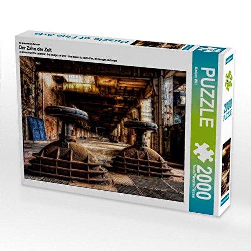 Ein Motiv aus dem Kalender Der Zahn der Zeit 2000 Teile Puzzle quer (CALVENDO Orte)