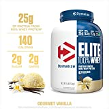 Dymatize Elite 100% Whey Protein (2.26Kg / 5lbs, Vanilla)