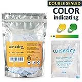 wisedry Paquets de 10 grammes x 30 Gel de Silice sachets Sacs avec Perle Orange Silicone Indicateur d'humidité absorbeur d humidite pour Élimination de l'humidité,qualité Alimentaire
