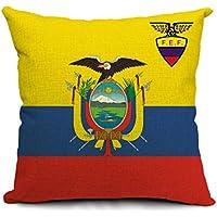 COMVIP Almohada Decorativa Caja Cuadrada Inicio Sofá Throw Cojín Chile 45x45cm Ecuador