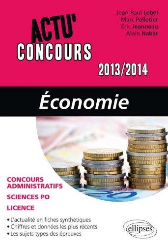 Economie 2013-2014
