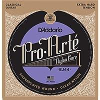 D'Addario EJ44 - Juego de cuerdas para guitarra clásica de nylon (tensión alta)