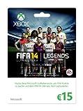 Xbox Live - 15 Euro Guthabenkarte (FIFA Ultimate Team-Design)