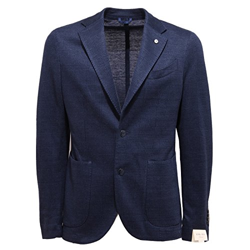 2346Q giacca uomo L.B.M. 1911 DANDY LIMITED EDITION blu jacket men [50-R]