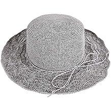 9e845f745b1b1 DGLIYJ Sombrero De Paja Femenino Verano Playa Vacaciones Visera Playa  Sombrero Plegable Casual Salvaje Sombrero De