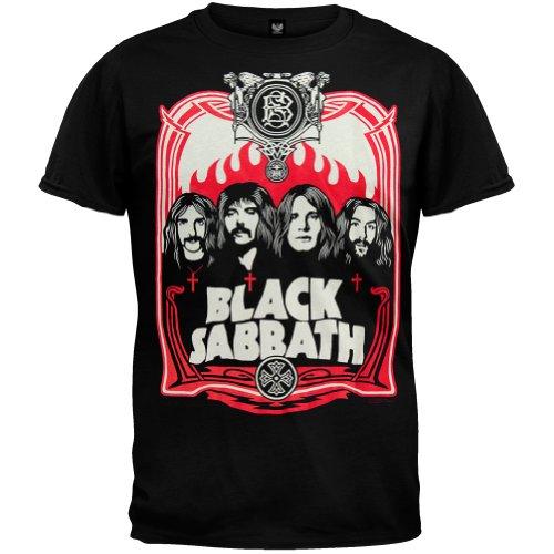 Old Glory Black Sabbath - Red Flames T-Shirt