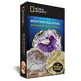 Abre 15 geodas y explora sus cristales con NATIONAL GEOGRAPHIC
