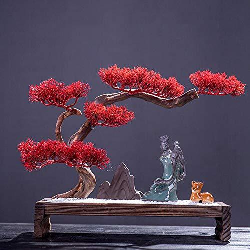 Laogg Giardino Zen Acqua di Montagna Asciutta Paesaggistica Sabbia Fine Giapponese Zen Meditazione d\'Arte Tavolo da Biliardo Ornamento di Sabbia Micro Paesaggio Feng Shui Yoga Decorazione