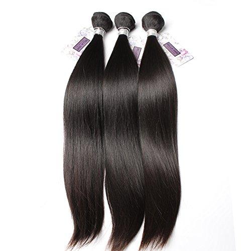 Bella Hair 100 % Cheveux Tissage Humains Vierges Droit 3 Faisceaux Mixte 12\\