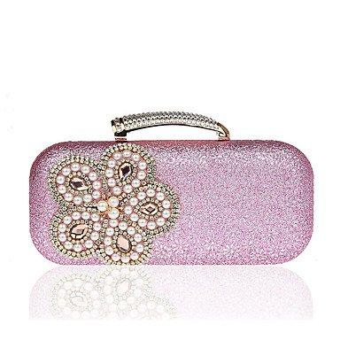 Damenmode pearl Abendessen Tasche Blushing Pink